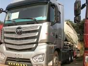 国五欧曼EST半挂水泥罐车、490马力